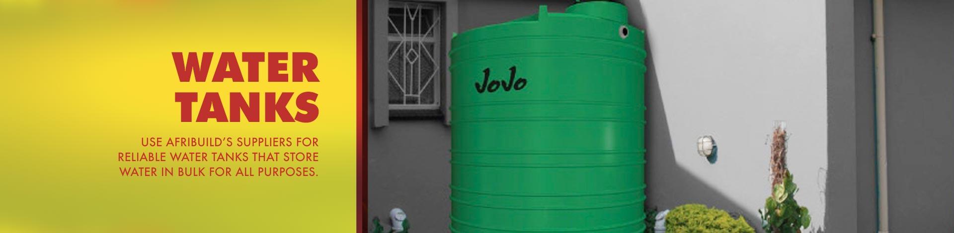 Afribuild Water Tanks